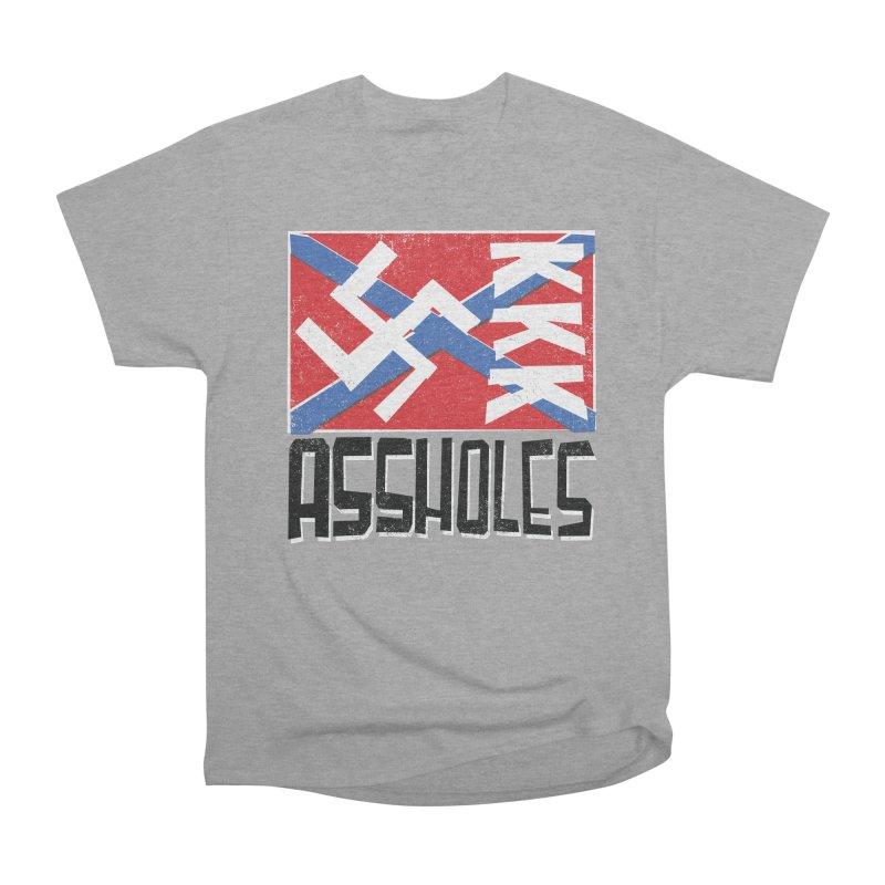Assholes Men's Heavyweight T-Shirt by Tom Pappalardo / Standard Design