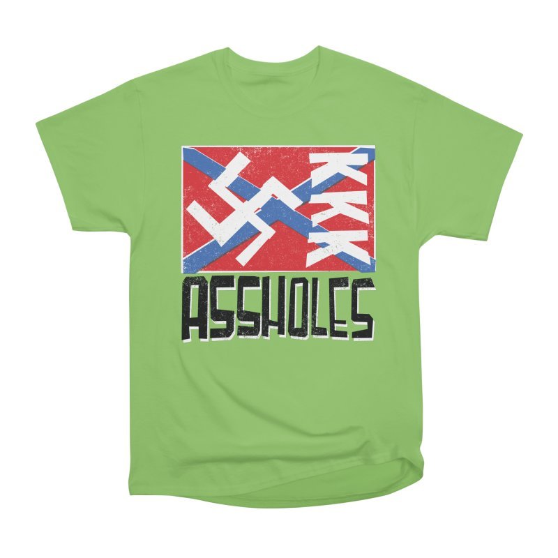 Assholes Men's Heavyweight T-Shirt by Tom Pappalardo / Standard Design
