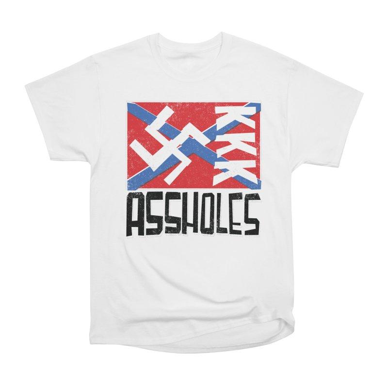 Assholes (black text) Women's T-Shirt by Object/Tom Pappalardo
