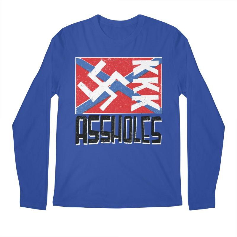 Assholes Men's Regular Longsleeve T-Shirt by Tom Pappalardo / Standard Design