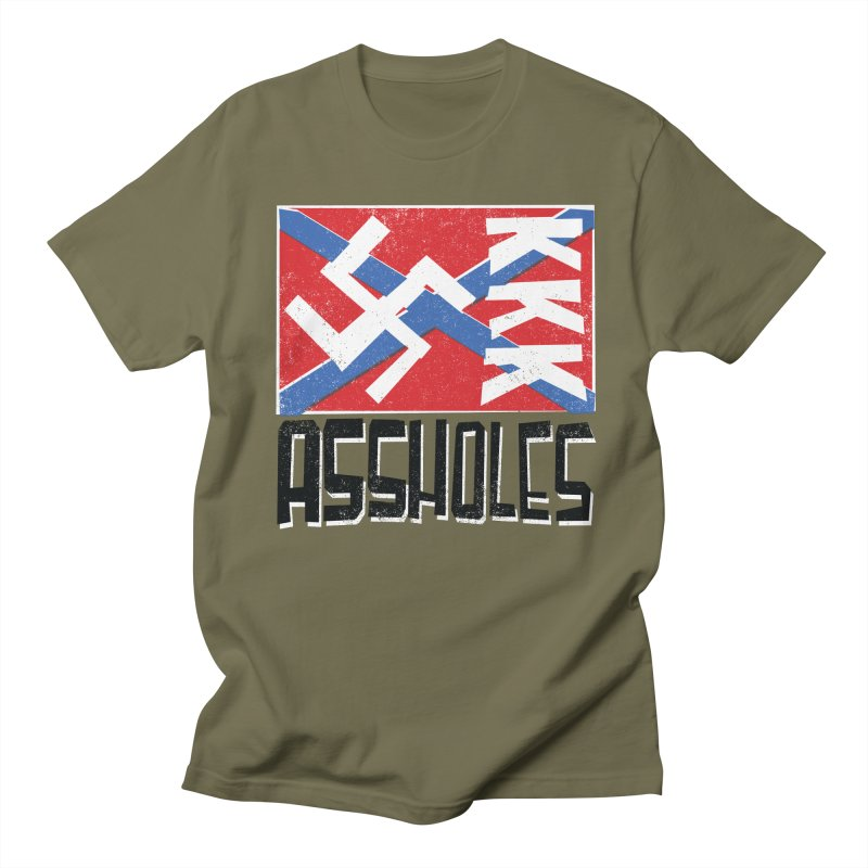 Assholes Women's Regular Unisex T-Shirt by Tom Pappalardo / Standard Design