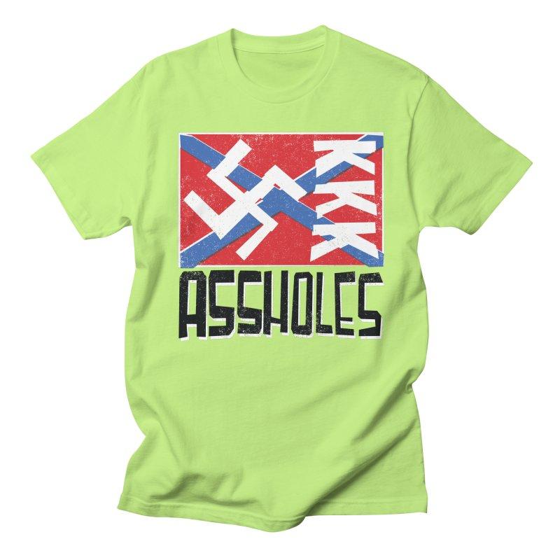 Assholes Women's Unisex T-Shirt by Tom Pappalardo / Standard Design