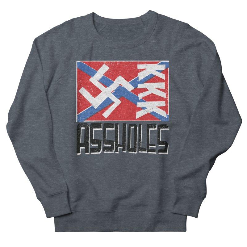 Assholes Men's Sweatshirt by Tom Pappalardo / Standard Design