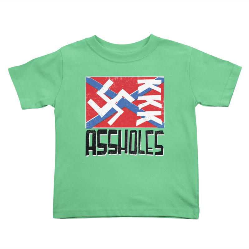 Assholes Kids Toddler T-Shirt by Tom Pappalardo / Standard Design