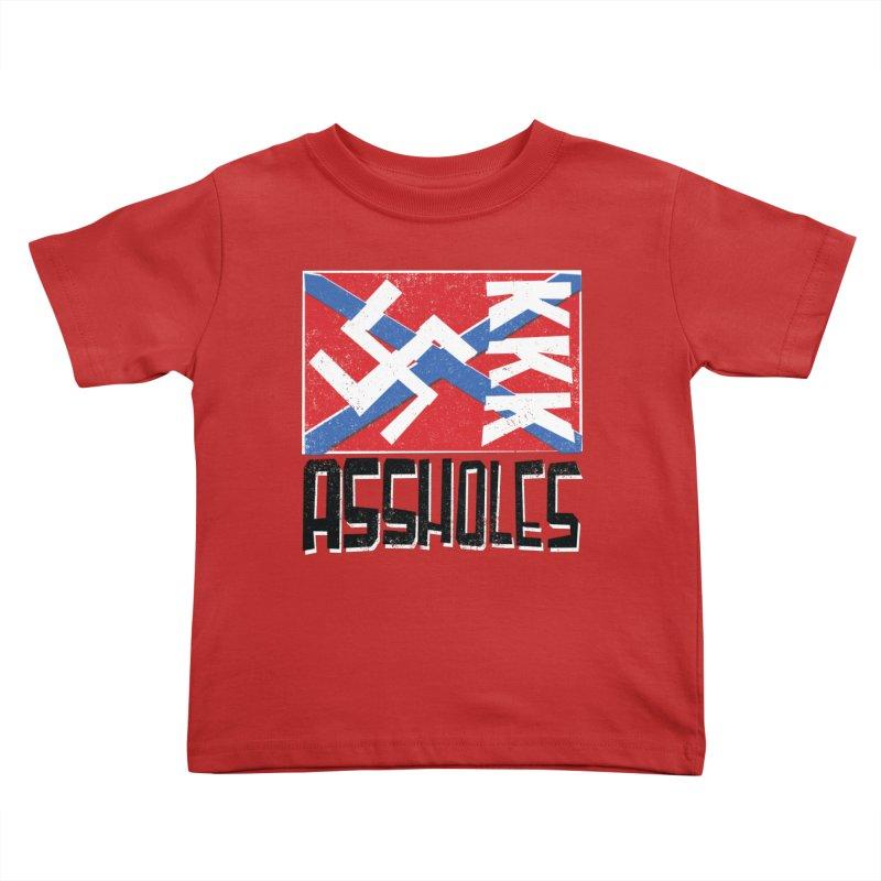 Assholes Kids Toddler T-Shirt by Tom Pappalardo / Standard Design