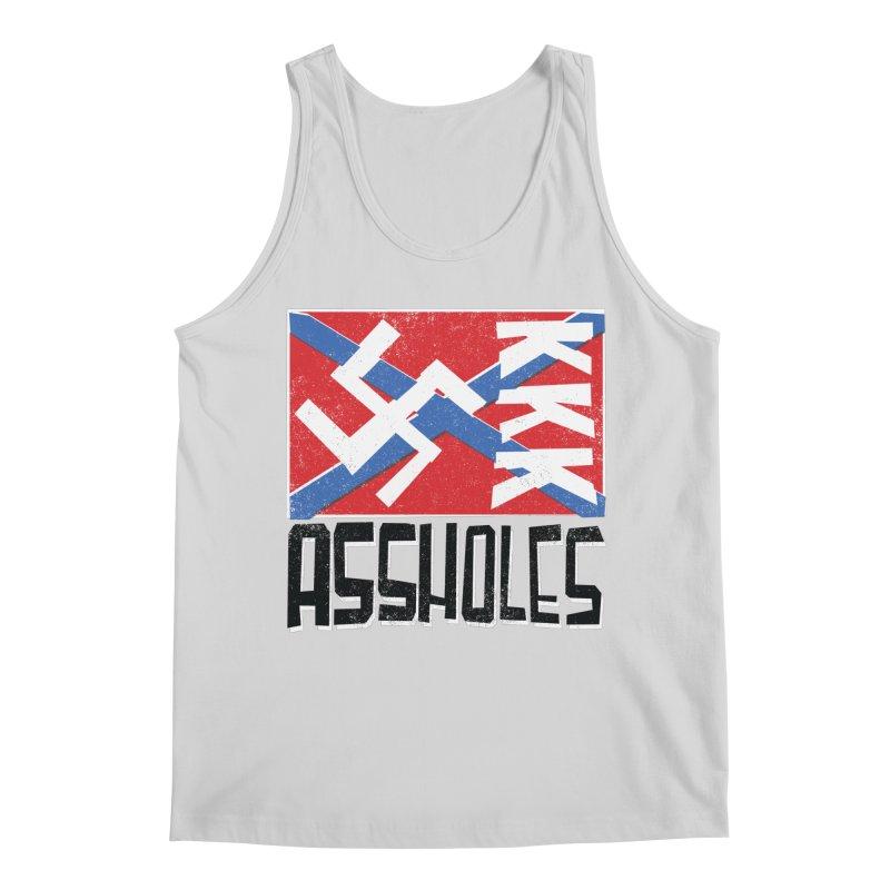 Assholes Men's Regular Tank by Tom Pappalardo / Standard Design