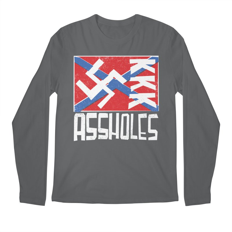 Assholes Men's Longsleeve T-Shirt by Tom Pappalardo / Standard Design