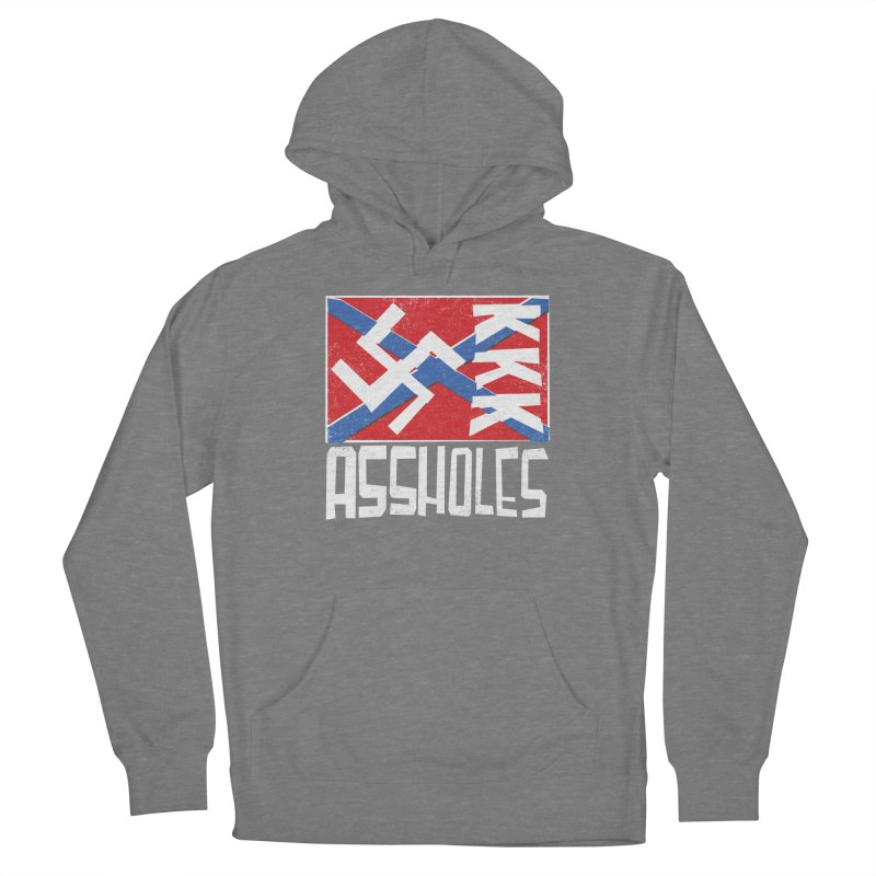 Assholes (white text) Women's Pullover Hoody by Object/Tom Pappalardo