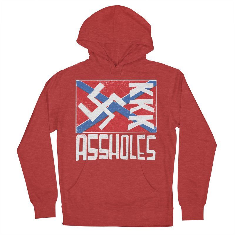 Assholes Women's Pullover Hoody by Tom Pappalardo / Standard Design