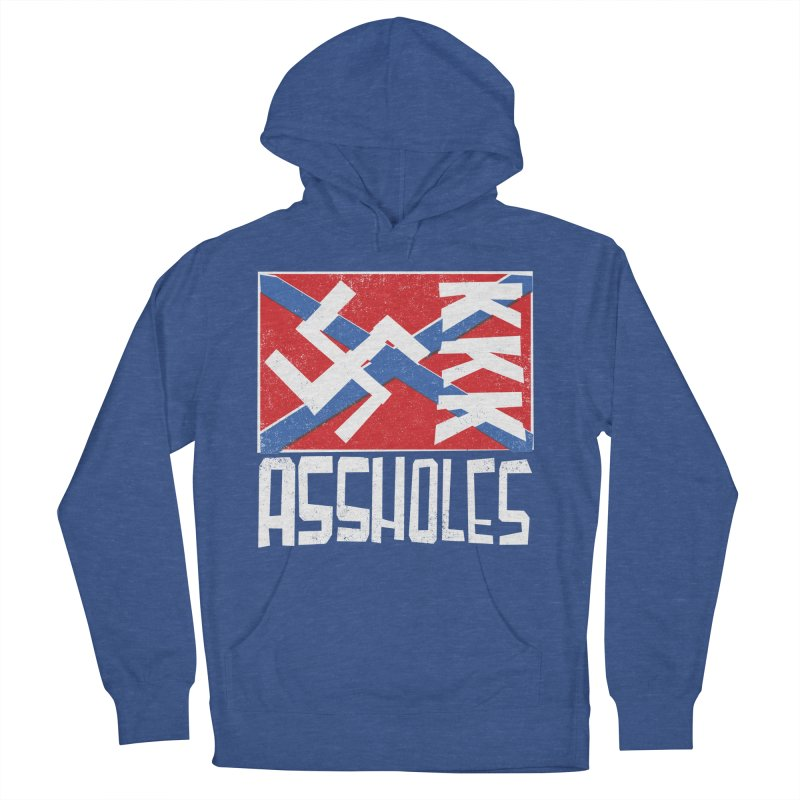 Assholes Men's Pullover Hoody by Tom Pappalardo / Standard Design