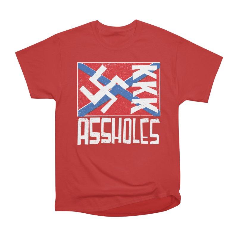 Assholes Women's Heavyweight Unisex T-Shirt by Tom Pappalardo / Standard Design