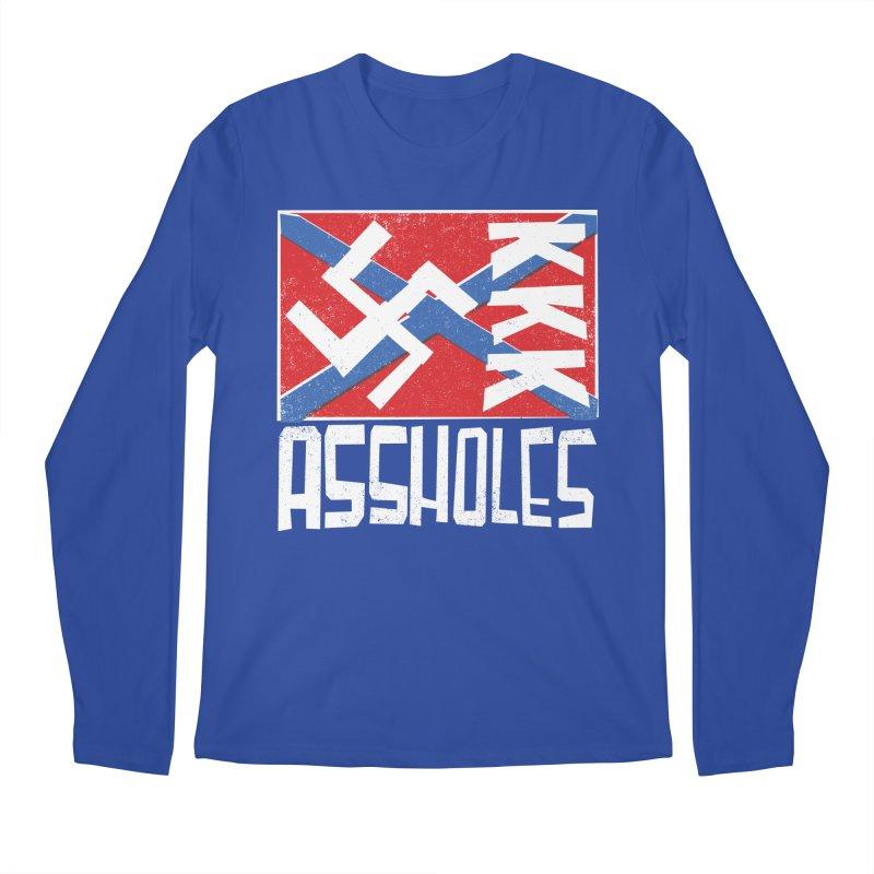 Assholes Men's Longsleeve T-Shirt by Tom Pappalardo / Standard Design