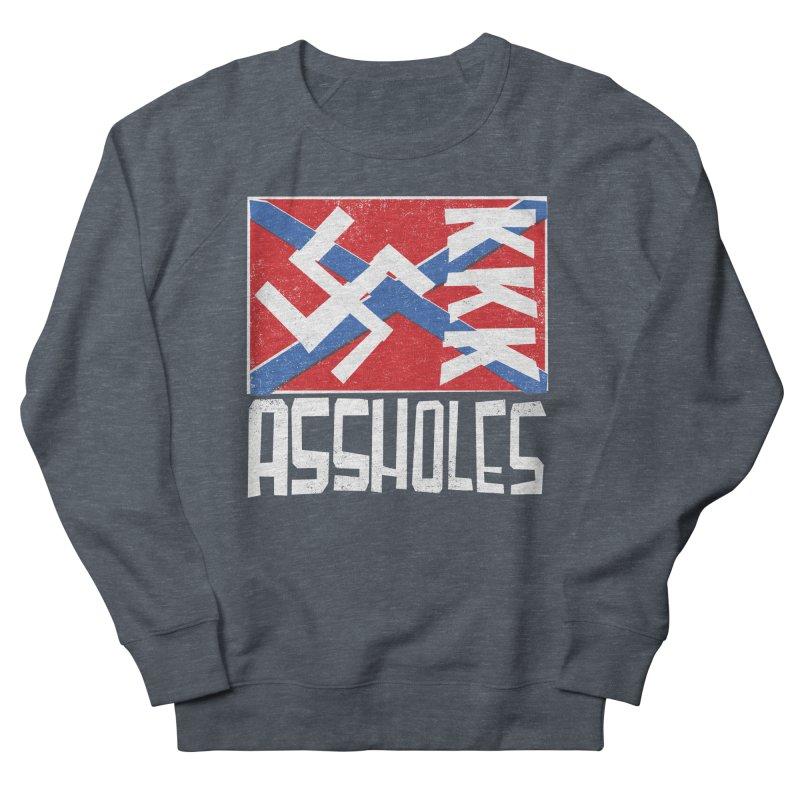 Assholes Women's Sweatshirt by Tom Pappalardo / Standard Design