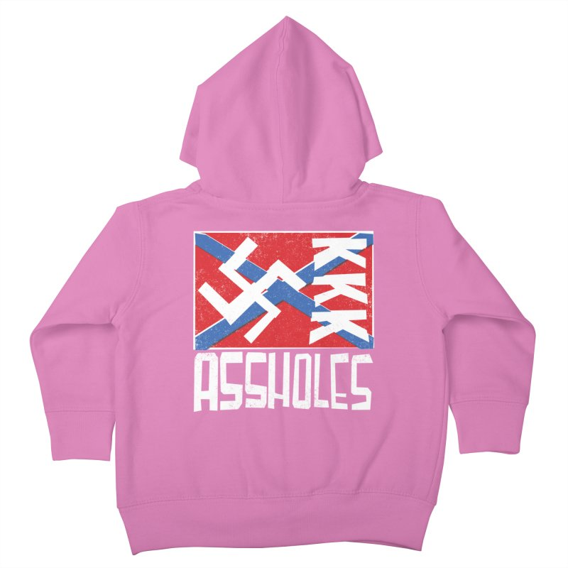 Assholes Kids Toddler Zip-Up Hoody by Tom Pappalardo / Standard Design