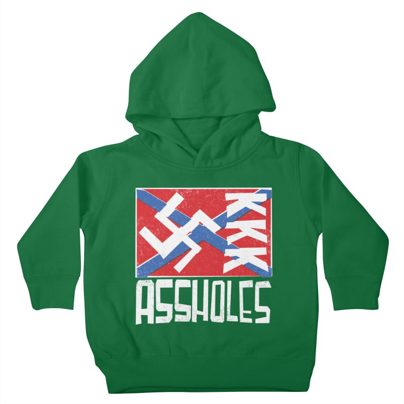 Assholes Kids Toddler Pullover Hoody by Tom Pappalardo / Standard Design