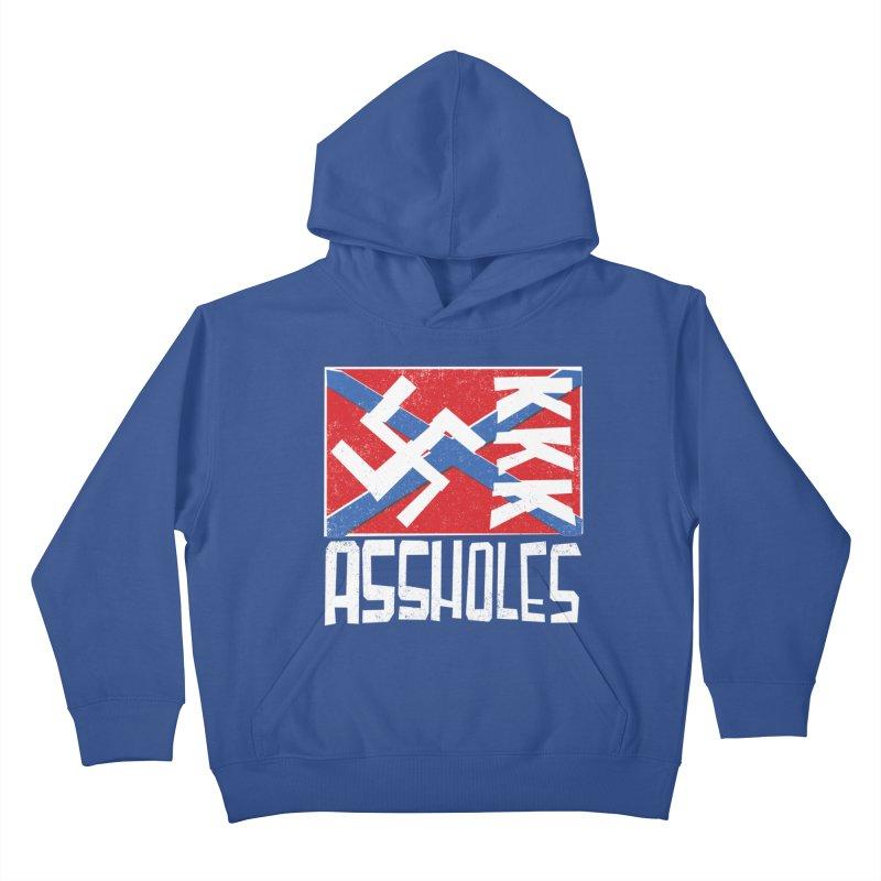 Assholes Kids Pullover Hoody by Tom Pappalardo / Standard Design