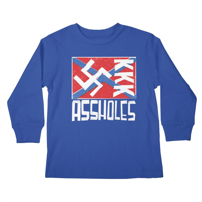Assholes Kids Longsleeve T-Shirt by Tom Pappalardo / Standard Design