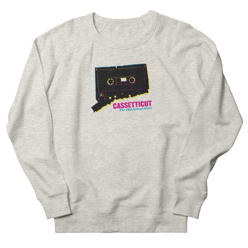 Cassetticut: The Old School State Women's Sweatshirt by Tom Pappalardo / Standard Design