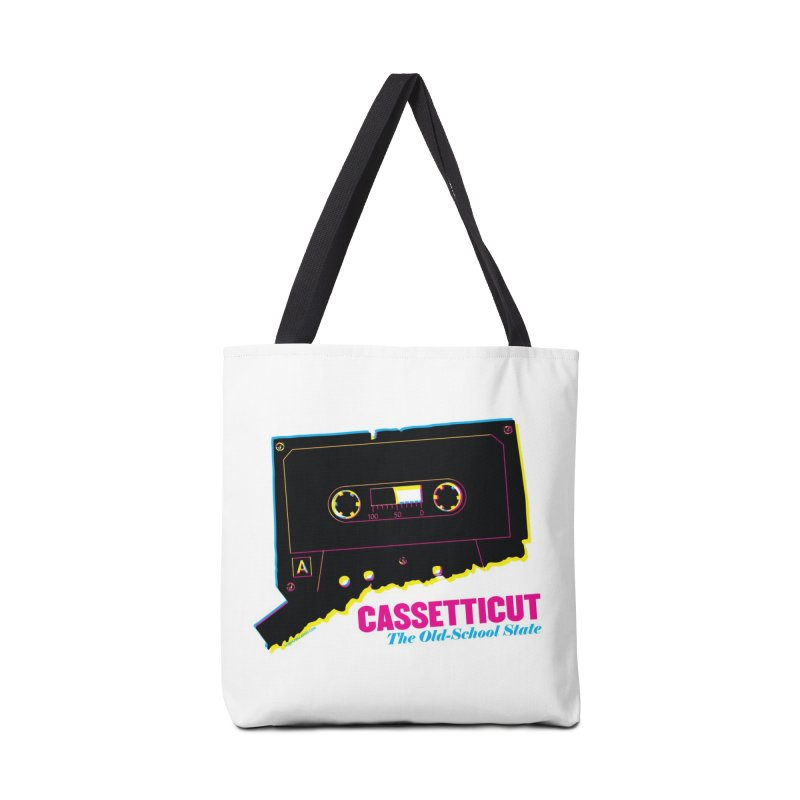 Cassetticut: The Old School State Mugs, Buttons, & More Bag by Object/Tom Pappalardo