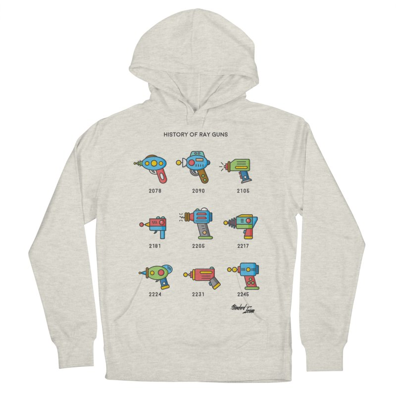 History of Ray Guns Women's Pullover Hoody by Standard Issue Clothing