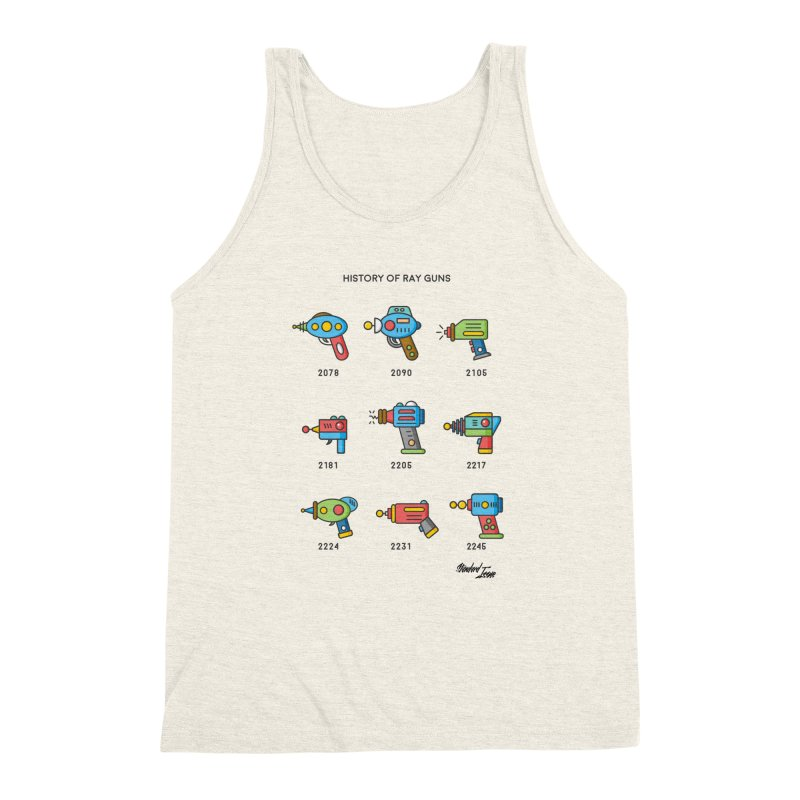 History of Ray Guns Men's Triblend Tank by Standard Issue Clothing