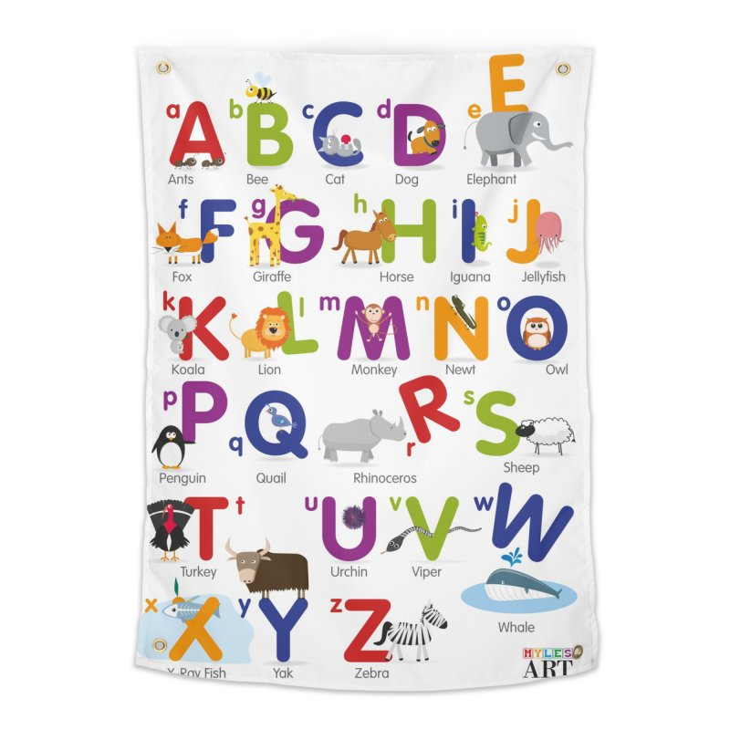 Animal Alphabet Home Tapestry by Standard Issue Clothing