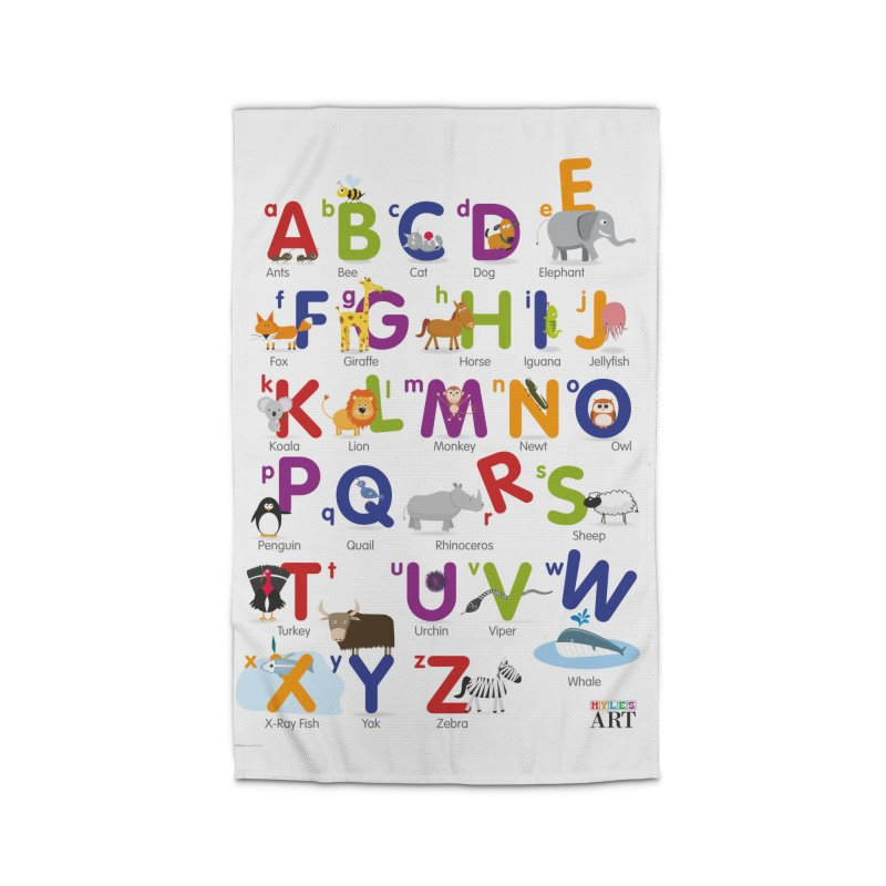 Animal Alphabet Home Rug by Standard Issue Clothing