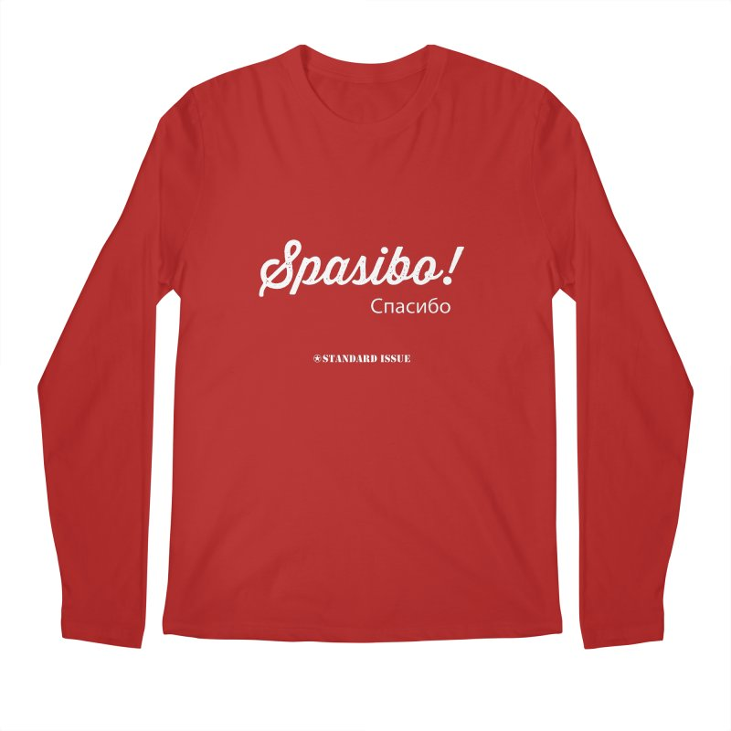 Spasibo! Men's Longsleeve T-Shirt by Standard Issue Clothing