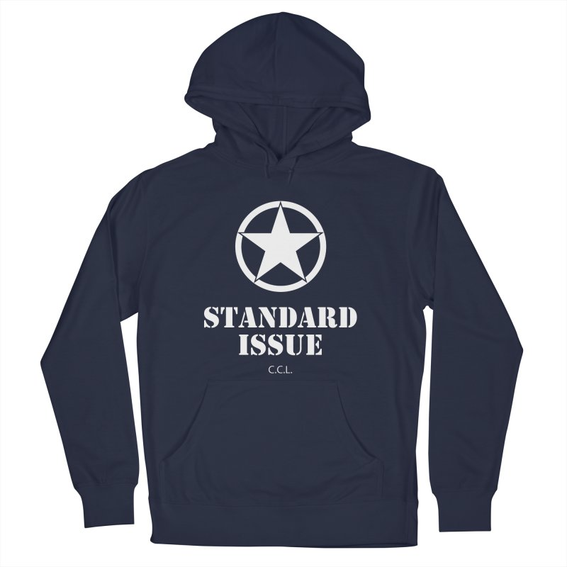 The Original Standard Issue in Men's Pullover Hoody Navy by Standard Issue Clothing