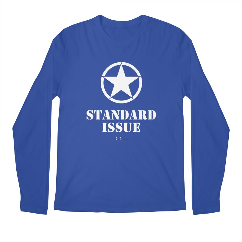 The Original Standard Issue Men's Longsleeve T-Shirt by Standard Issue Clothing