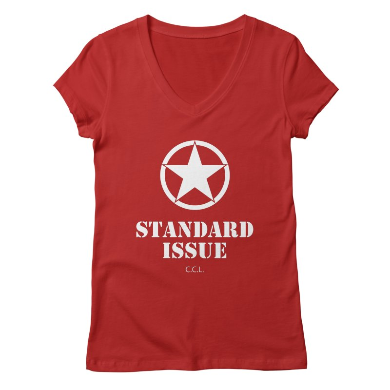 The Original Standard Issue Women's V-Neck by Standard Issue Clothing