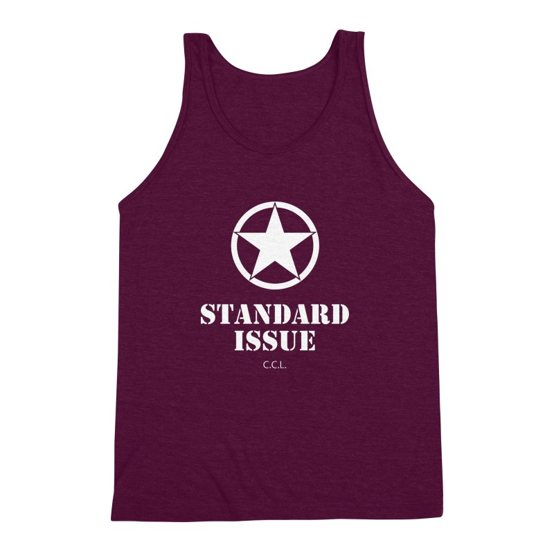 The Original Standard Issue Men's Triblend Tank by Standard Issue Clothing
