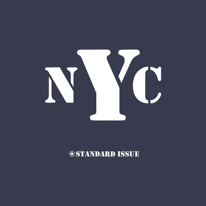 NYC Men's Sweatshirt by Standard Issue Clothing