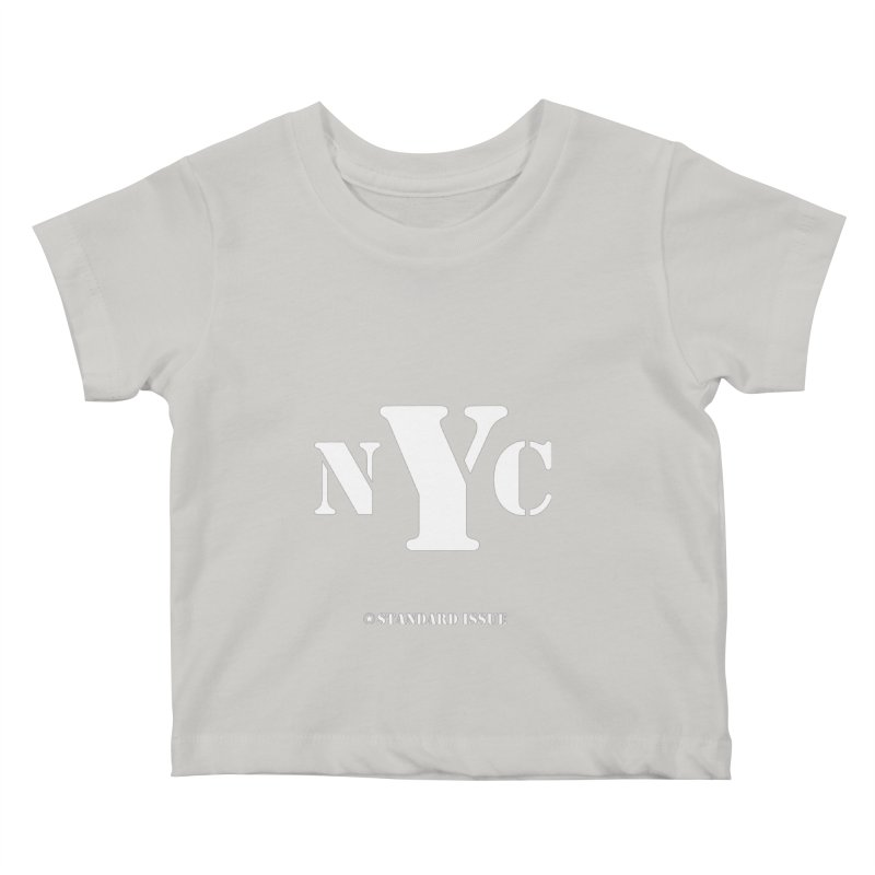 NYC Kids Baby T-Shirt by Standard Issue Clothing
