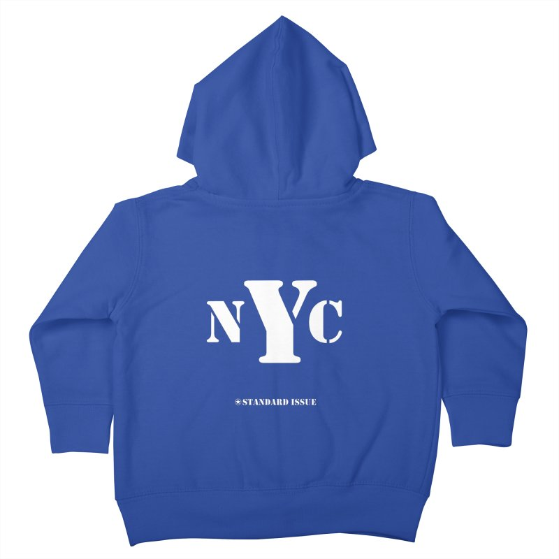 NYC Kids Toddler Zip-Up Hoody by Standard Issue Clothing