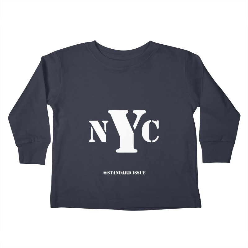 NYC Kids Toddler Longsleeve T-Shirt by Standard Issue Clothing
