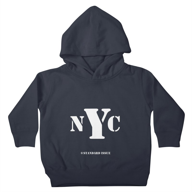 NYC Kids Toddler Pullover Hoody by Standard Issue Clothing