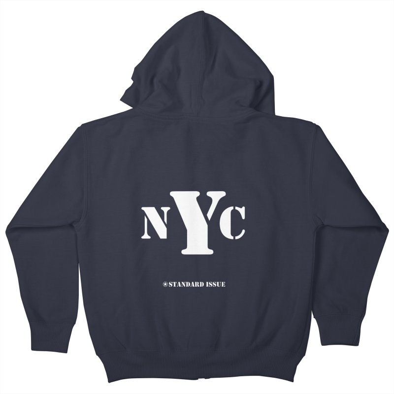 NYC Kids Zip-Up Hoody by Standard Issue Clothing