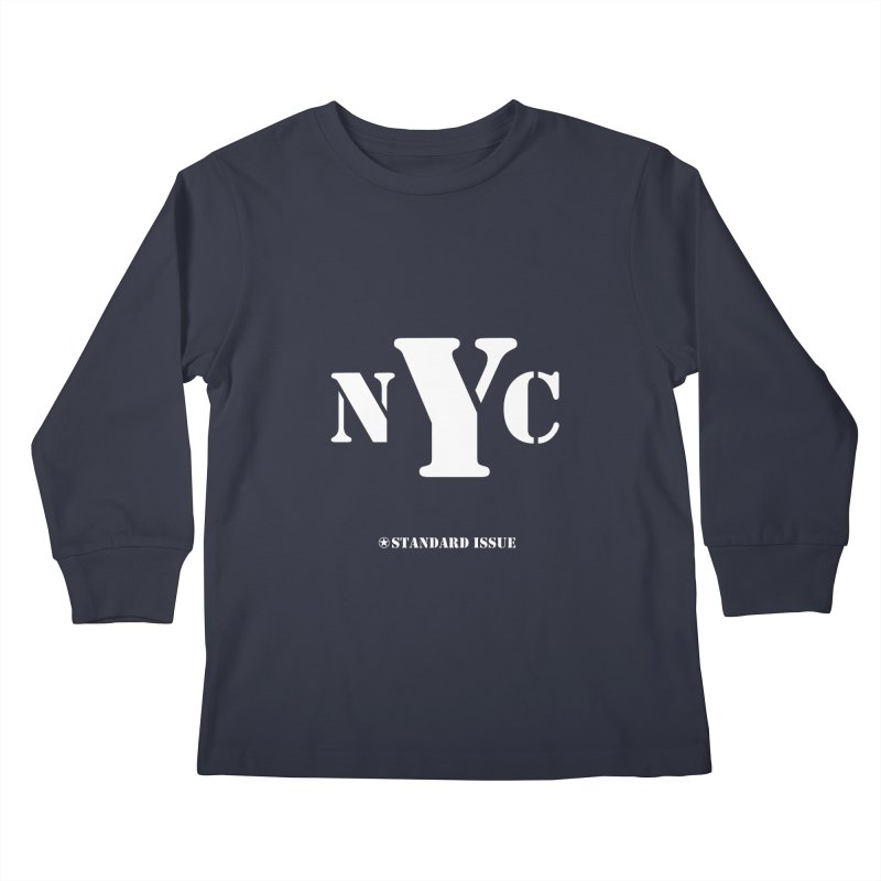 NYC Kids Longsleeve T-Shirt by Standard Issue Clothing