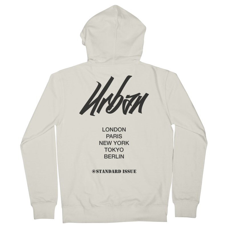 Urban Women's Zip-Up Hoody by Standard Issue Clothing