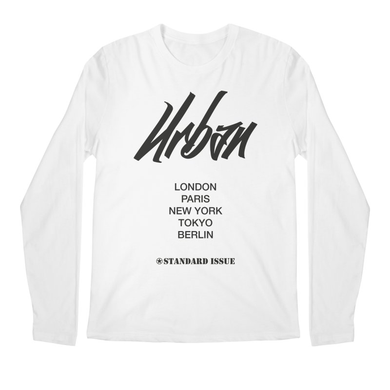 Urban Men's Longsleeve T-Shirt by Standard Issue Clothing