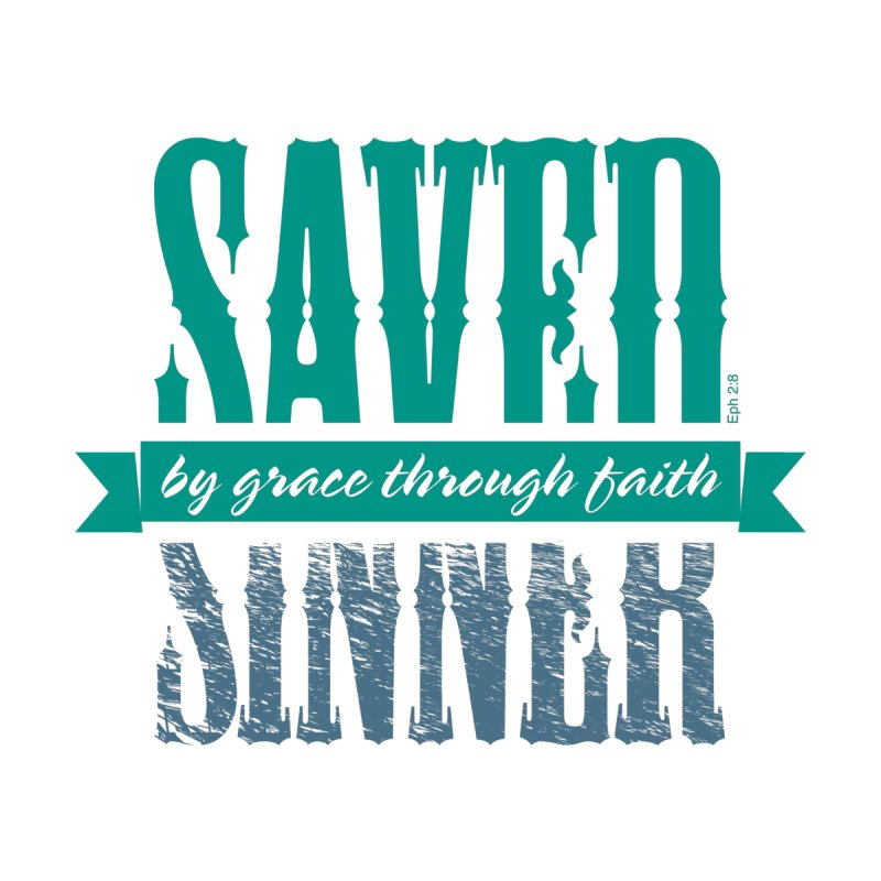 Sinner Saved Accessories Mug by Stand Forgiven ✝ Bible-inspired designer brand