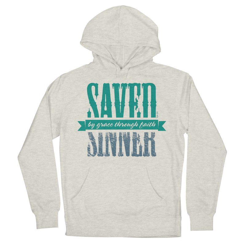 Sinner Saved Women's Pullover Hoody by Stand Forgiven ✝ Bible-inspired designer brand