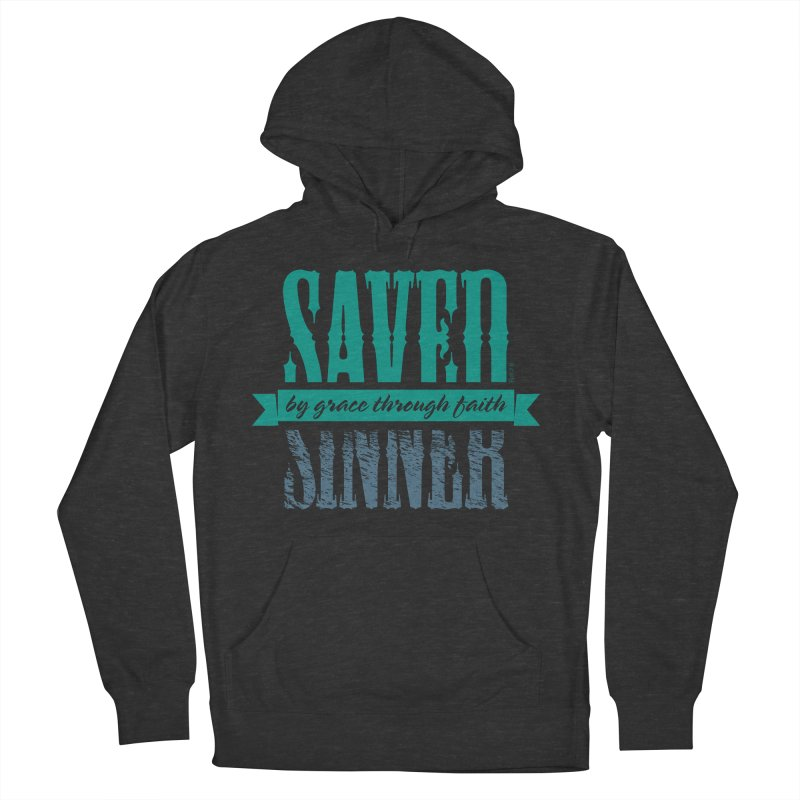 Sinner Saved Men's Pullover Hoody by Stand Forgiven ✝ Bible-inspired designer brand