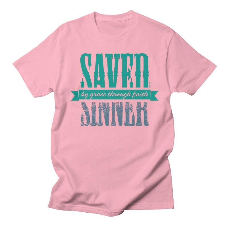 Sinner Saved Men's T-Shirt by Stand Forgiven ✝ Bible-inspired designer brand