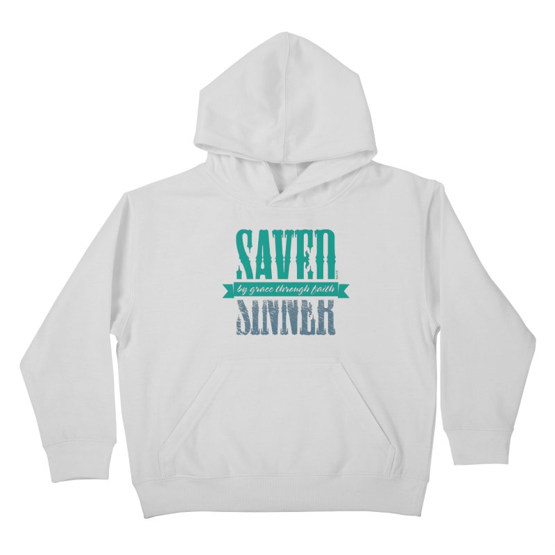 Sinner Saved Kids Pullover Hoody by Stand Forgiven ✝ Bible-inspired designer brand
