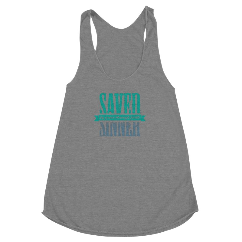 Sinner Saved Women's Tank by Stand Forgiven ✝ Bible-inspired designer brand