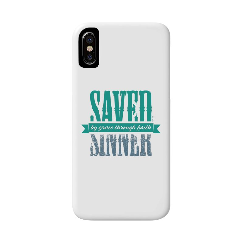 Sinner Saved Accessories Phone Case by Stand Forgiven ✝ Bible-inspired designer brand