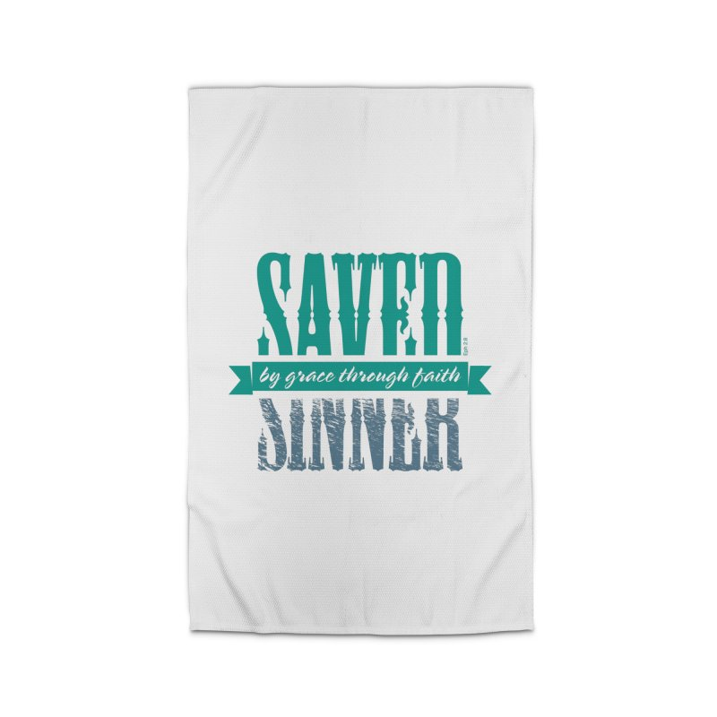 Sinner Saved Home Rug by Stand Forgiven ✝ Bible-inspired designer brand