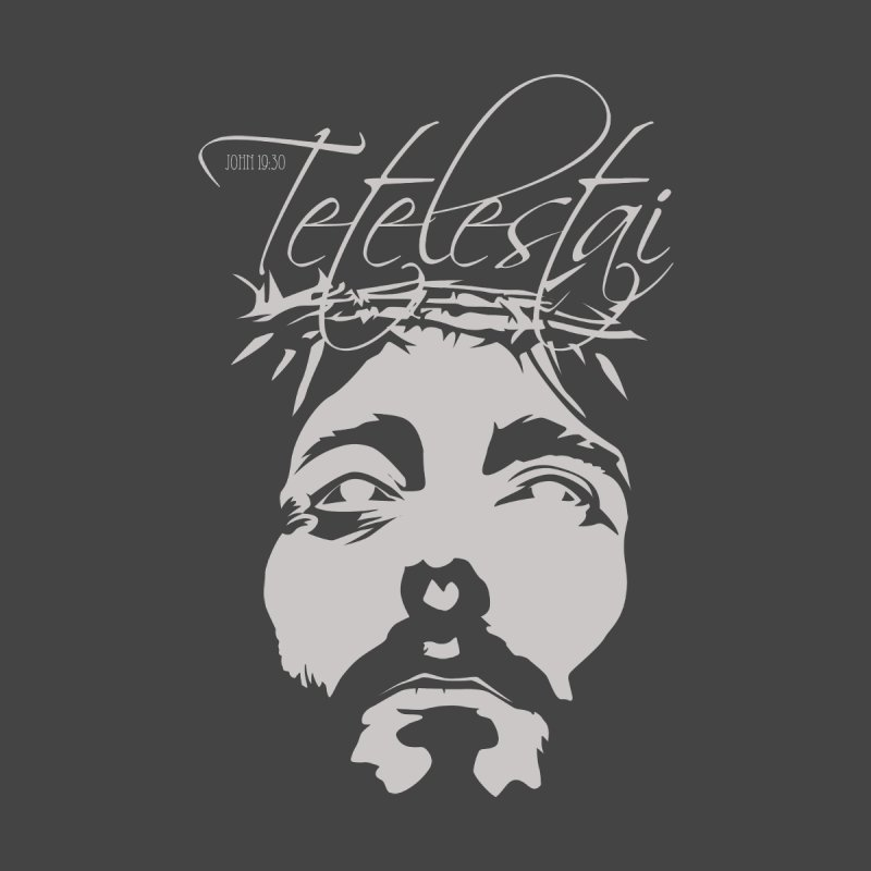 Tetelestai Home Stretched Canvas by Stand Forgiven ✝ Bible-inspired designer brand